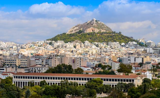 Lycabettus, Athens. Photo © Maria Theofanopoulou