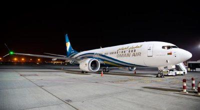 Oman Air Boeing 737 MAX aircraft. Photo © Oman Air