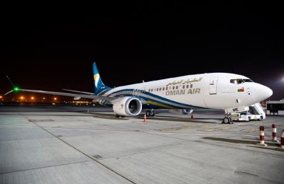 Oman Air Boeing 737 MAX aircraft. Photo © Oman Air