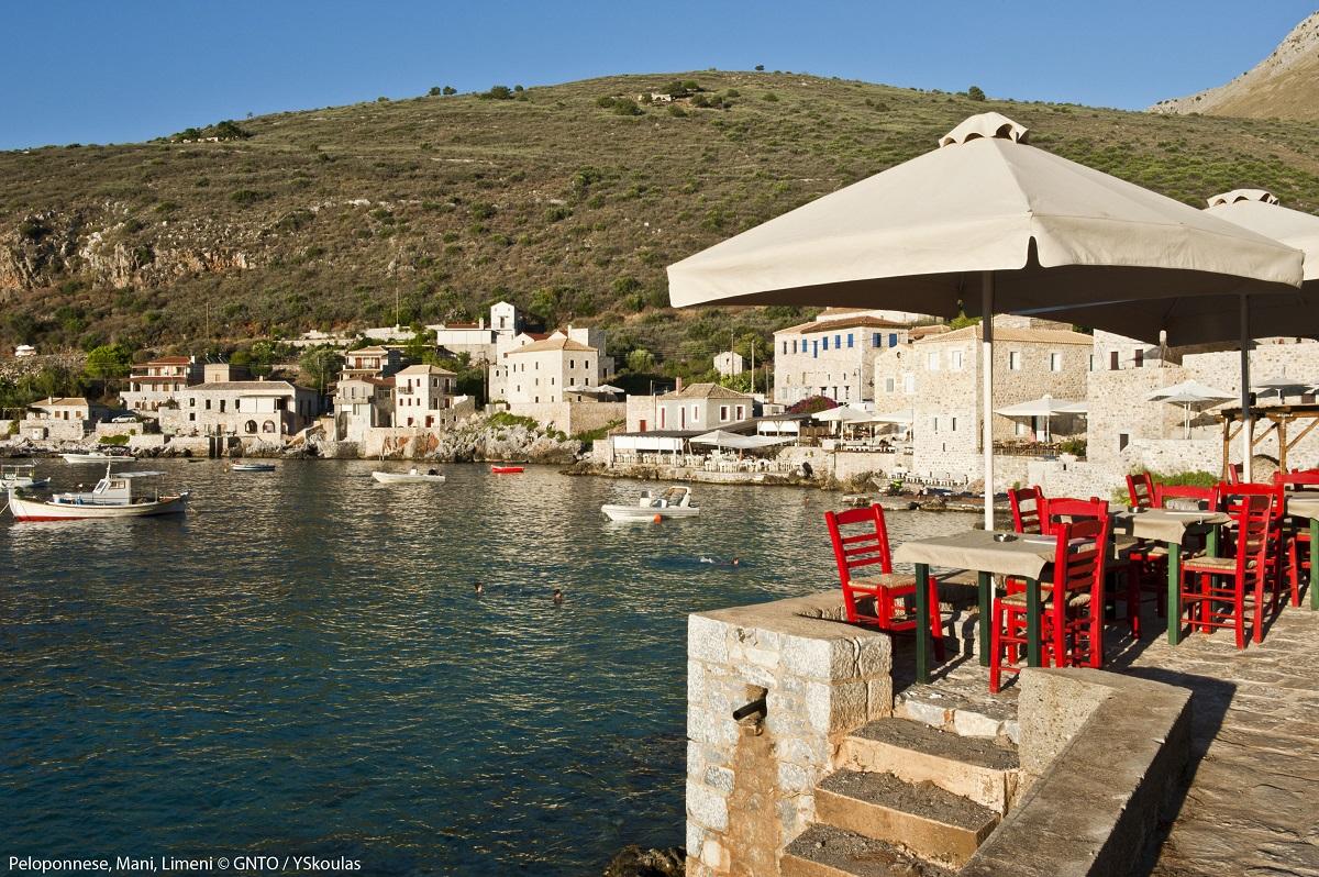 Mani, Peloponnese. Photo Source: Visit Greece/Y. Skoulas
