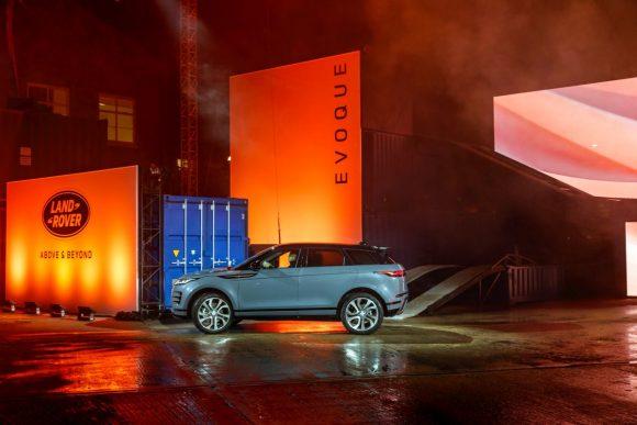 The new Range Rover Evoque.