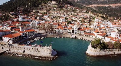 The port and town of Nafpaktos in Western Greece. Photo Source: Municipality of Nafpaktos