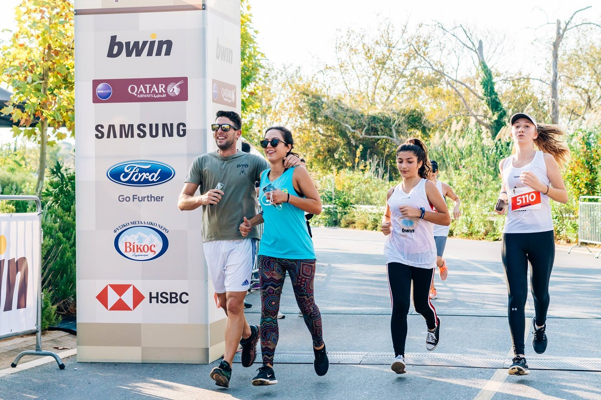 """Through its central message """"sports unite people"""", Navarino Challenge promotes sports with inter-generational activities catering to all age groups (photo by Mike Tsolis)"""