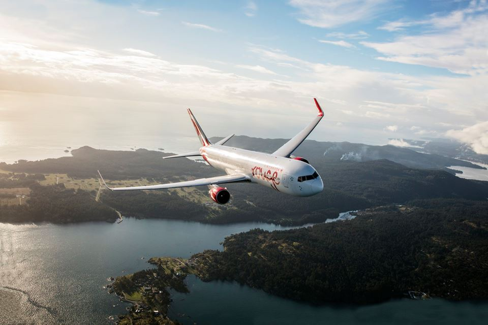Photo source: Air Canada Rouge.