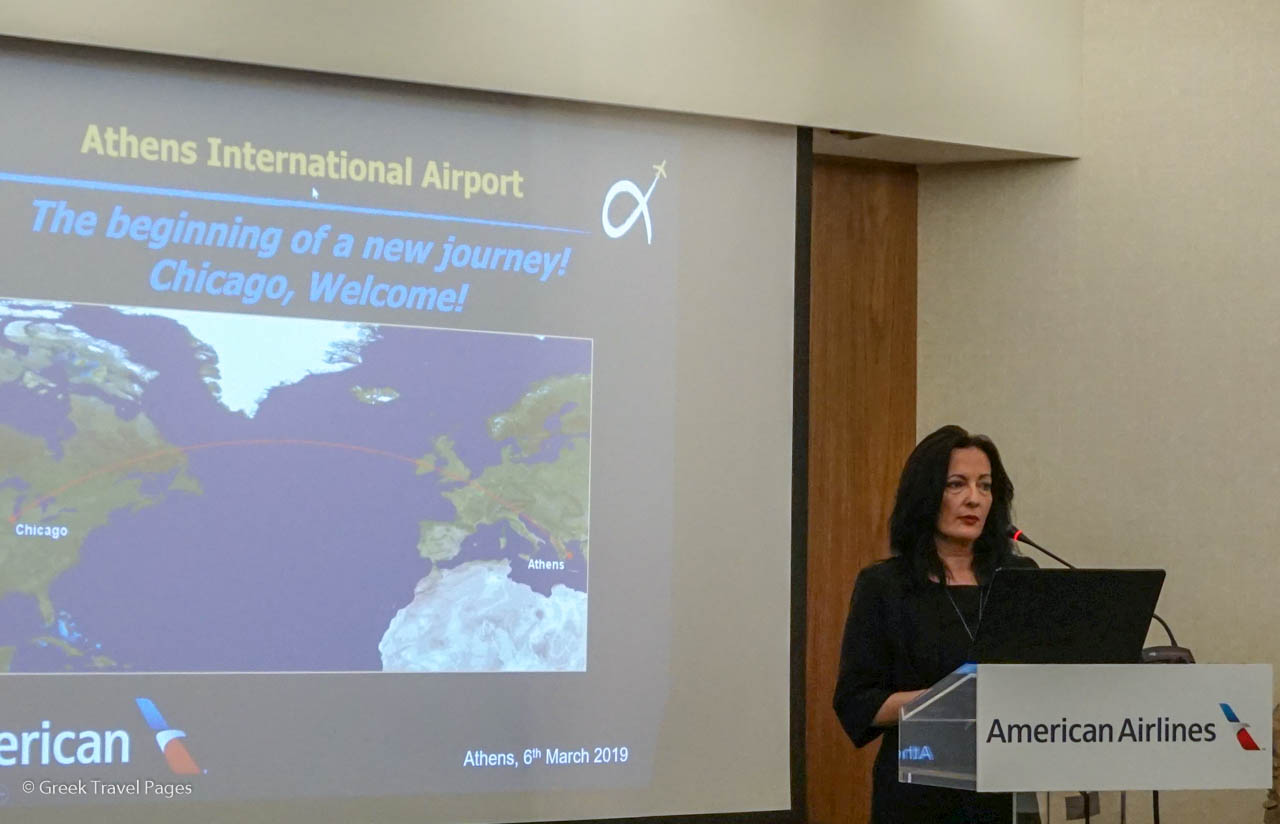 Ioanna Papadopoulou, Director, Communications & Marketing of AIA.
