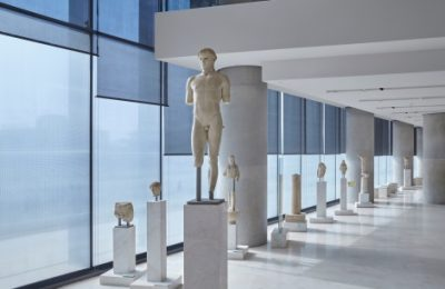 The Archaic Acropolis Galllery. Photo source: Acropolis Museum / Giorgos Bitsaropoylos