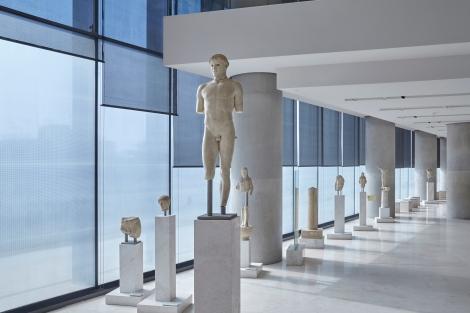 The Archaic Acropolis Galllery. Photo source: Acropolis Museum / Giorgos Bitsaropoylos