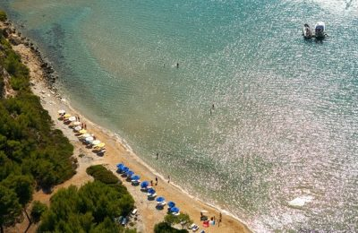 Chrisi Milia beach, Alonissos. Photo Source: Municipality of Alonissos