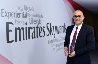 Dr Nejib Ben Khedher, Senior Vice President, Emirates Skywards.