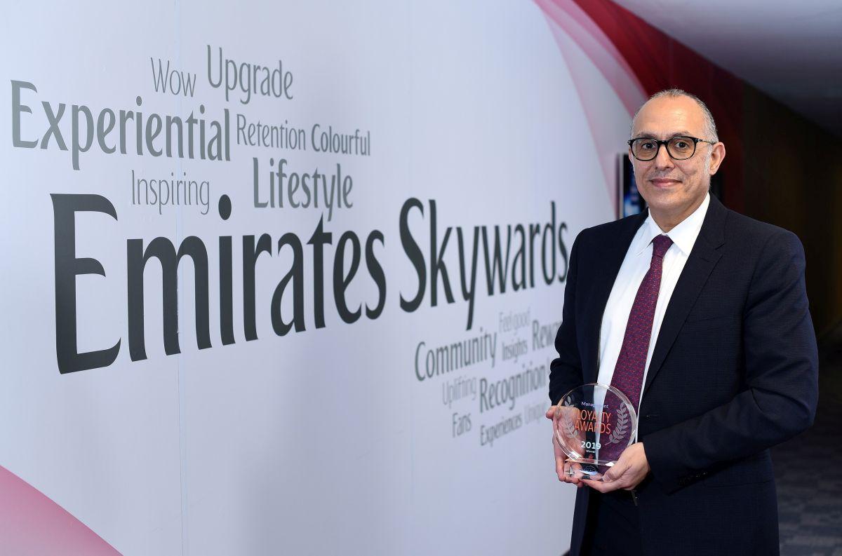 Dr Nejib Ben Khedher, Senior Vice President, Emirates Skywards.