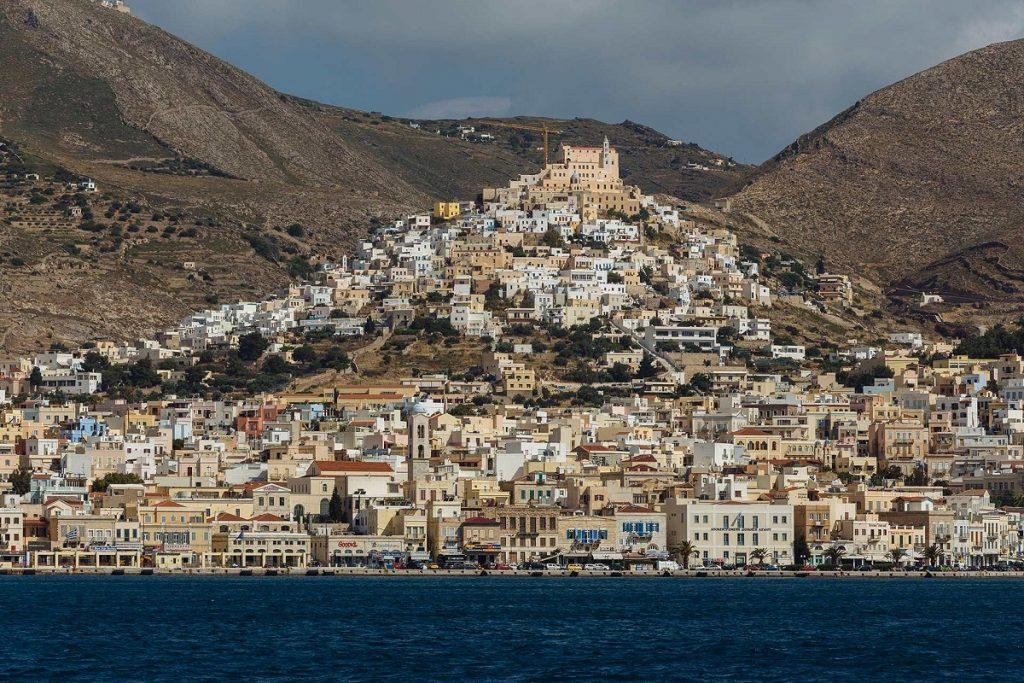 Ermoupolis on Syros. Photo Source: syrosisland.gr