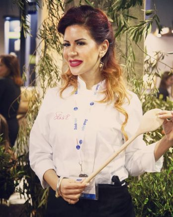 Greek Breakfast Coordinator Sissy Angelopoulou. Photo source: Domenica Productions