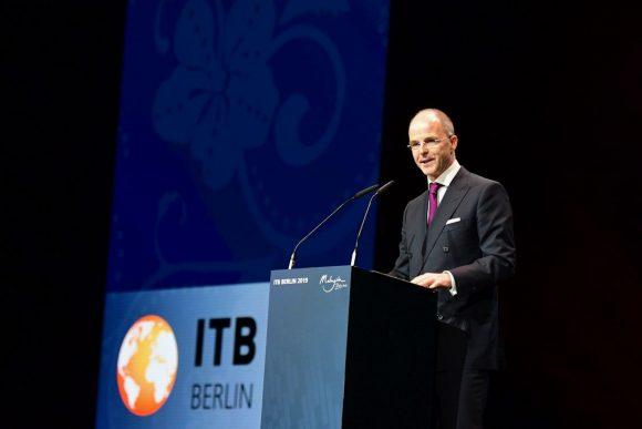 Messe Berlin CEO Dr. Christian Göke