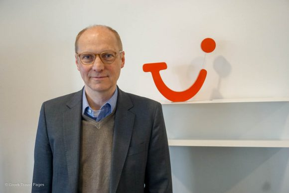 TUI Hotels & Resorts Managing Director Erik Friemuth.