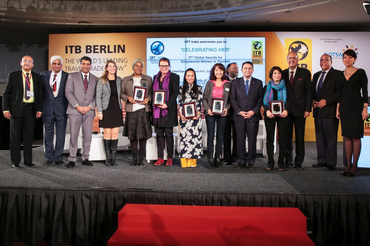 Archive photo - ITB Berlin 2017: Celebrating Her: Global awards for empowered women in tourism.