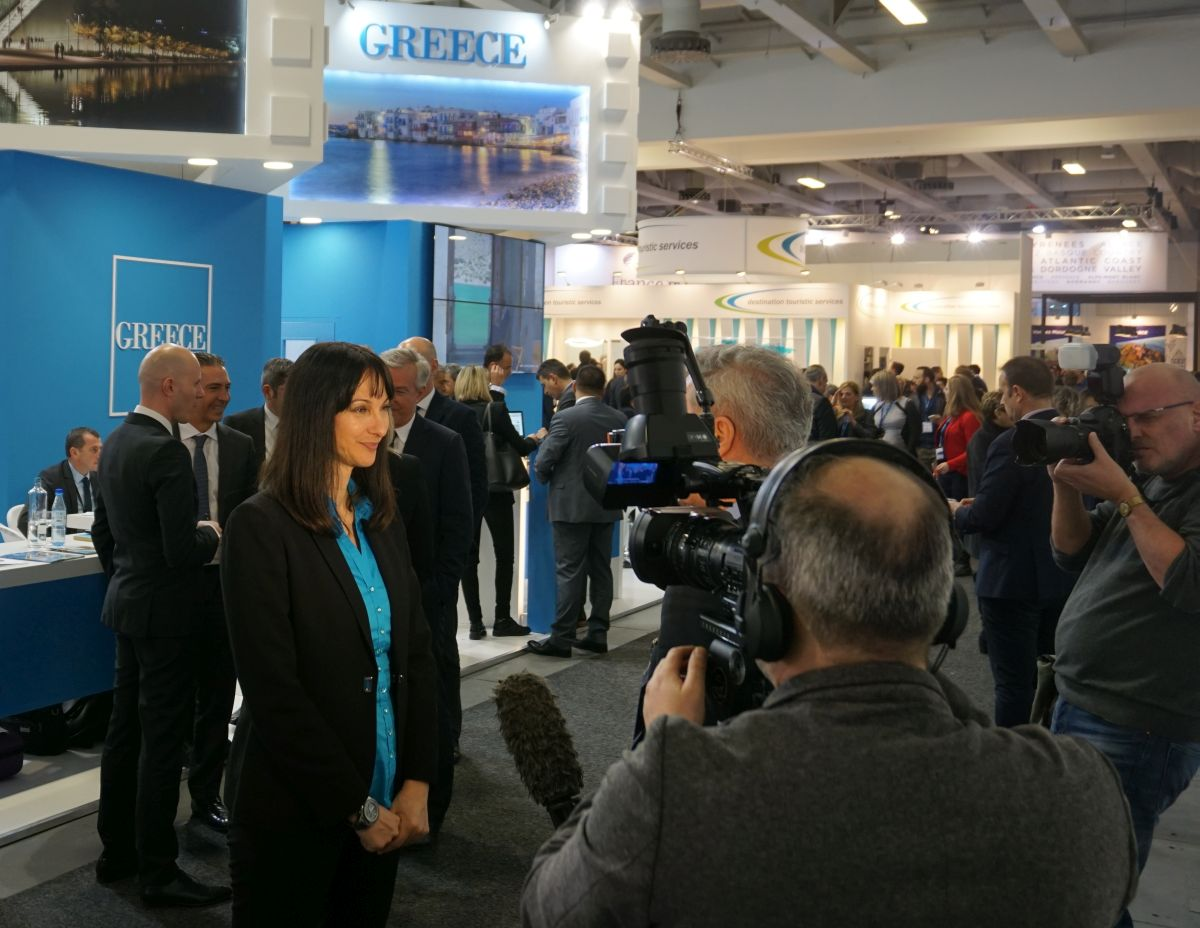 Promoting Greece High on Tourism Minister's ITB Berlin Agenda - GTP