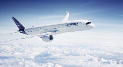 Airbus A350-900. Photo Source: Lufthansa