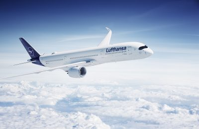 Airbus A350-900. Photo Source: Lufthansa