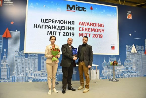 Greece this year received the Best Country Presentation award at Russia's MITT 2019 expo.