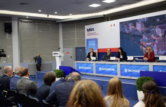 Greece press conference to Russian and international media.