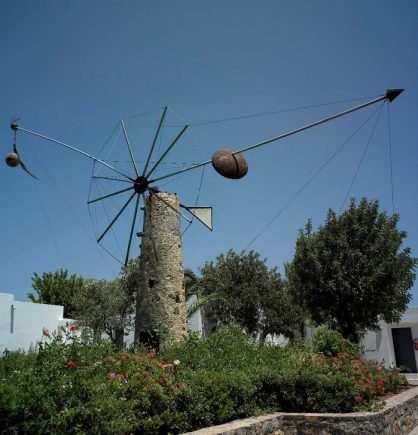 Theodoros Papadimitriou, Don Quixote, 1998, Collection of G & A Mamidakis Foundation.