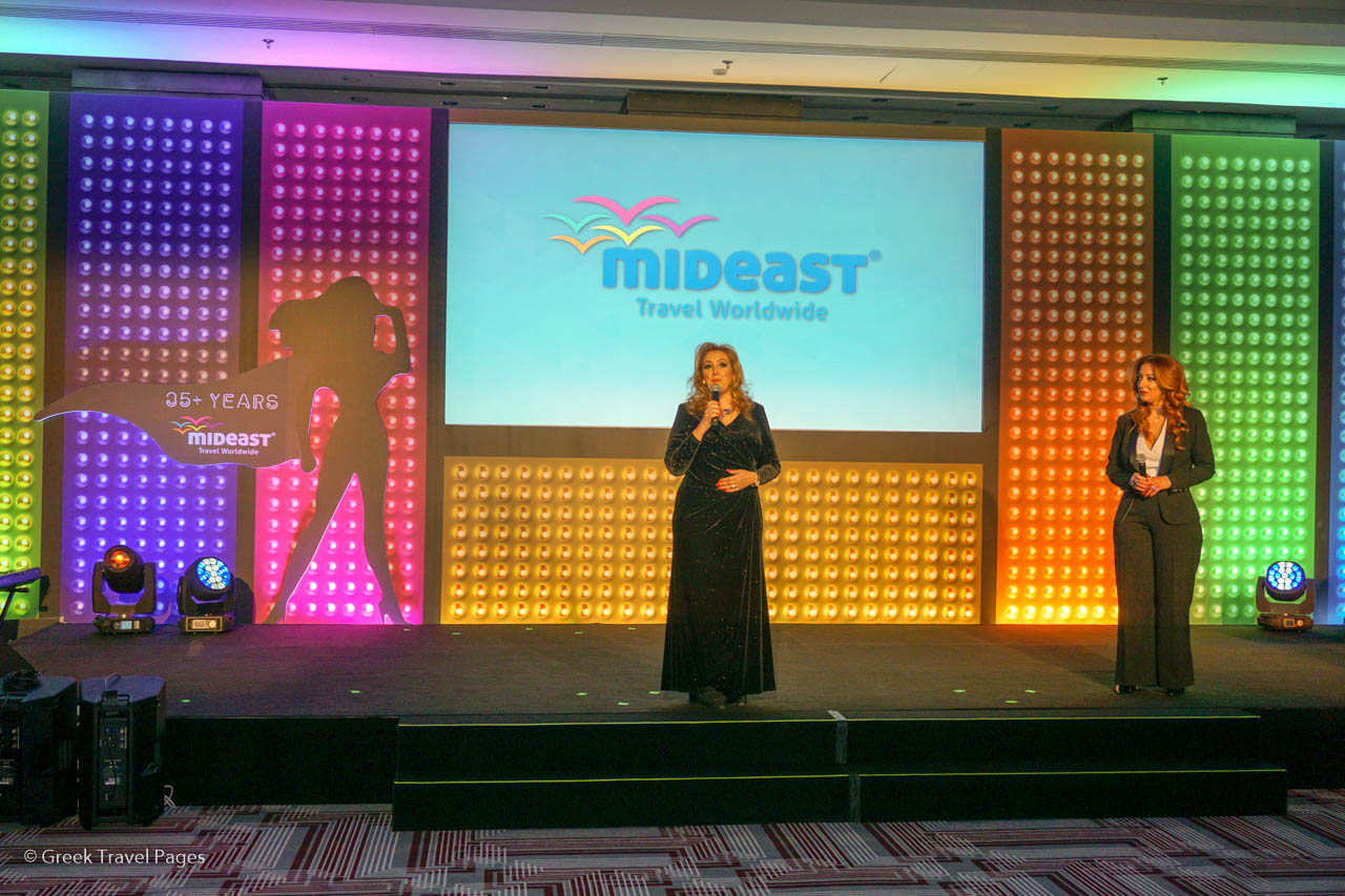 Mideast Travel Managing Director Katerina Mousbeh.