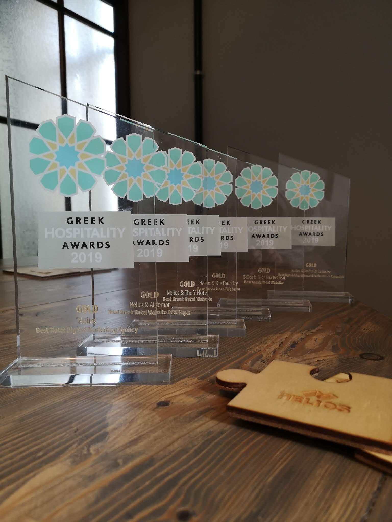 Έξι χρυσές διακρίσεις για την Nelios στα φετινά Greek Hospitality Awards.