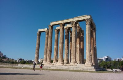 Temple of Zeus, Athens. Photo: GTP