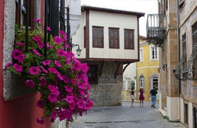 Xanthi- the old town. Photo Source: Municipality of Xanthi