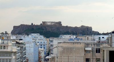 A view of the Acropolis from the city's rooftops (archive photo - GTP)
