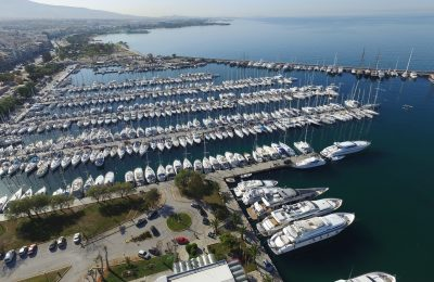 Alimos marina, Athens. Photo Source: Greek Marinas Association