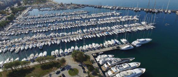 Alimos marina, Athens. Photo Source: Greek Marinas Association