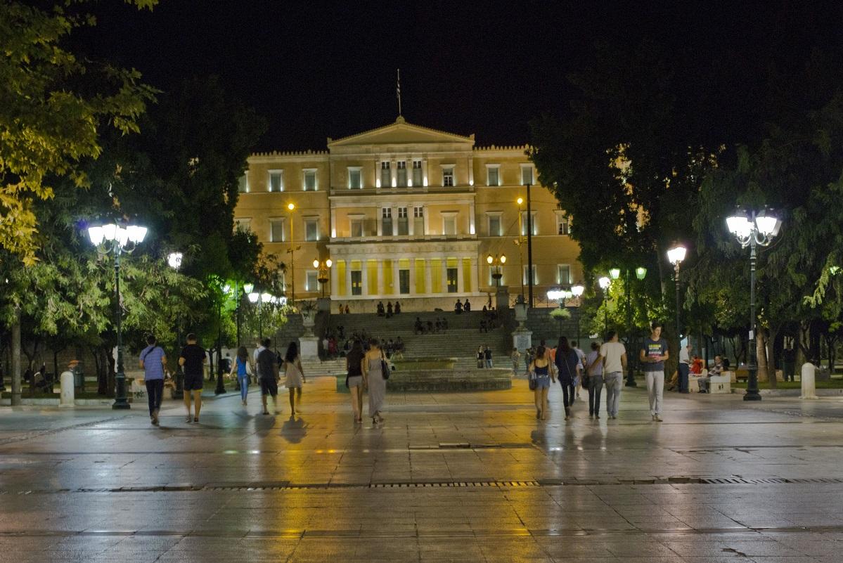 Athens, Syntagma square. Photo: Visit Greece / H. Kakarouhas
