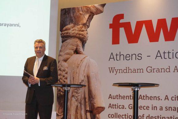 FVW's editor-in-chief, Klaus Hildebrandt.