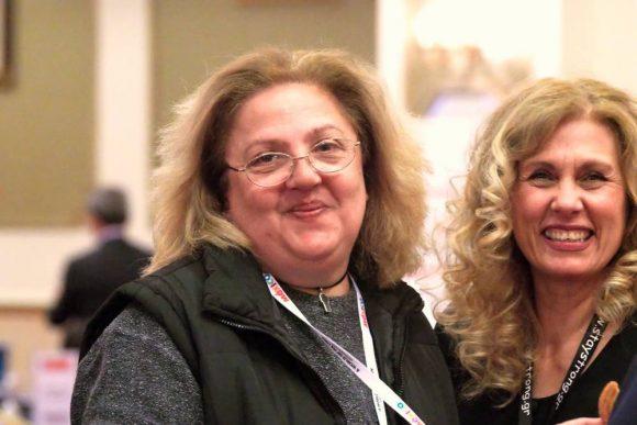 Οι επικεφαλής της Respond on Demand, Μαρία Αθανασοπούλου και Χρύσα Κρασσά.