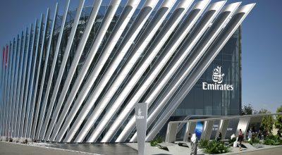 Emirates' Pavillion at