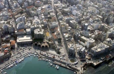 View of the city of Heraklion. Photo Source: Visit Greece