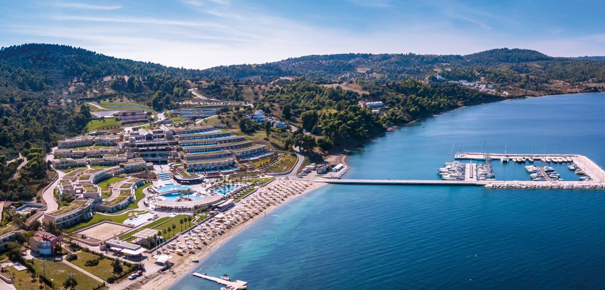 Miraggio Thermal Spa Resort, Halkidiki.