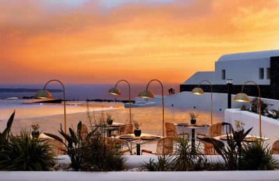 Alios Ilios restaurant, Santo Maris Oia Luxury Suites & Spa