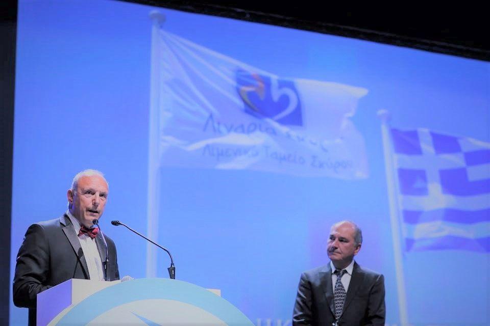 Ο πρόεδρος του Λιμενικού Ταμείου Σκύρου, κ. Κυριάκος Αντωνόπουλος.