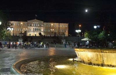 Athens, Syntagma square. Photo: Visit Greece / Y. Skoulas