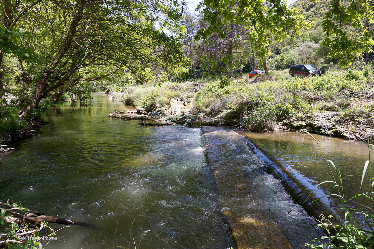 Eleftheres thermal springs. Photo: GTP