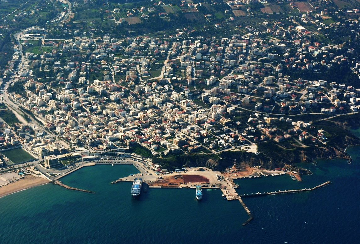 Rafina port (aerial archive photo). Source: @Rafina Port Authority