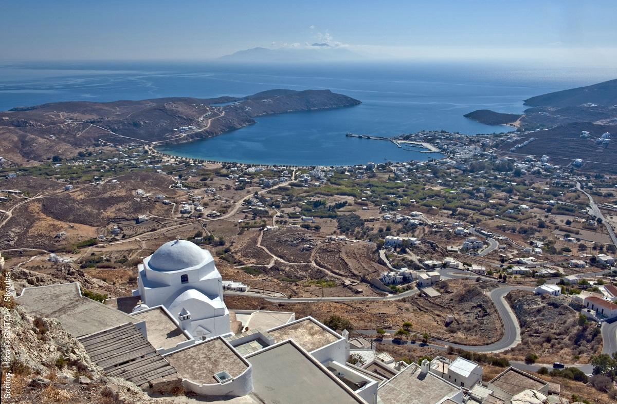 Serifos Island. Photo Source: Visit Greece / Y. Skoulas