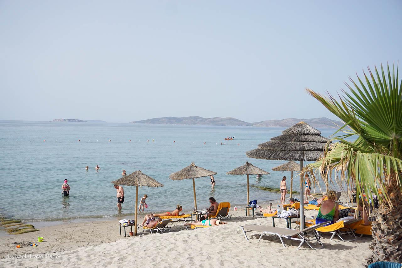 Beach setting of TUI Magic Life Marmari Palace on Kos, Greece.