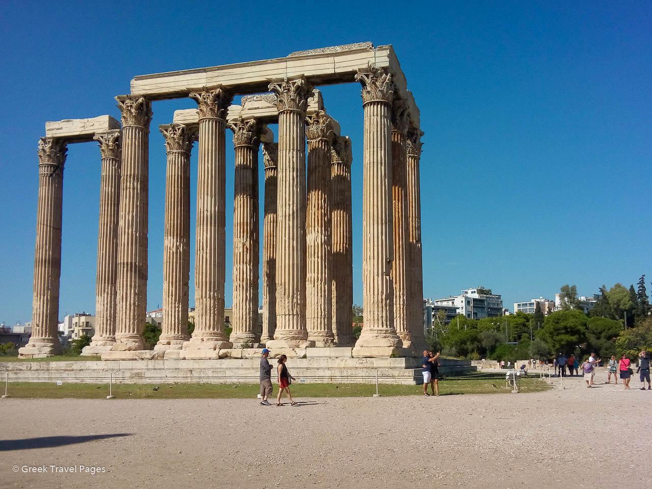 Temple of Zeus, Athens. Photo: GTP