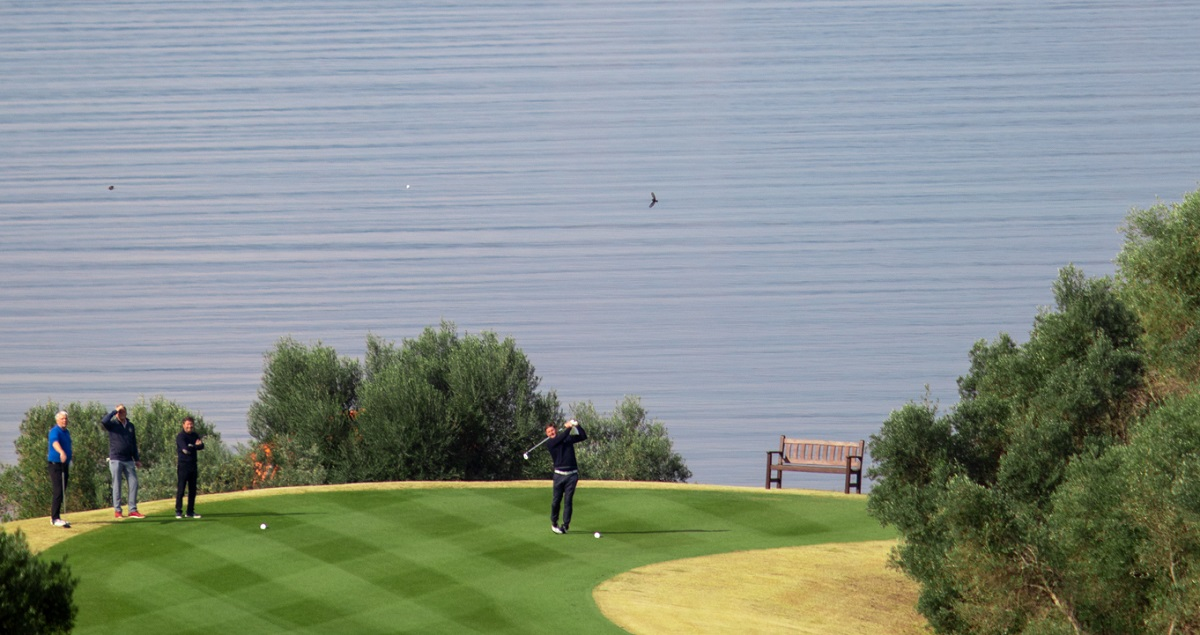 The Bay Course. Photo by Vassilis Sfakianopoulos