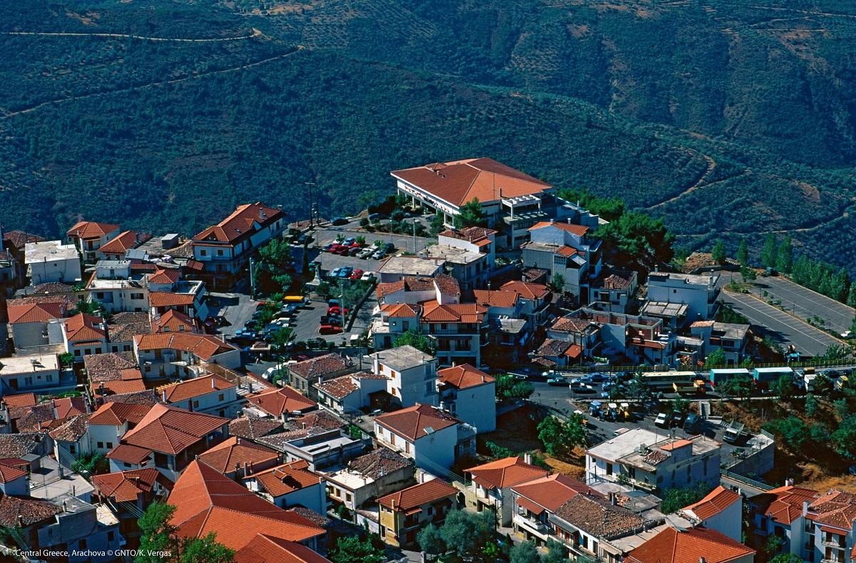 Arachova, central Greece. Photo Source: Visit Greece / K. Vergas