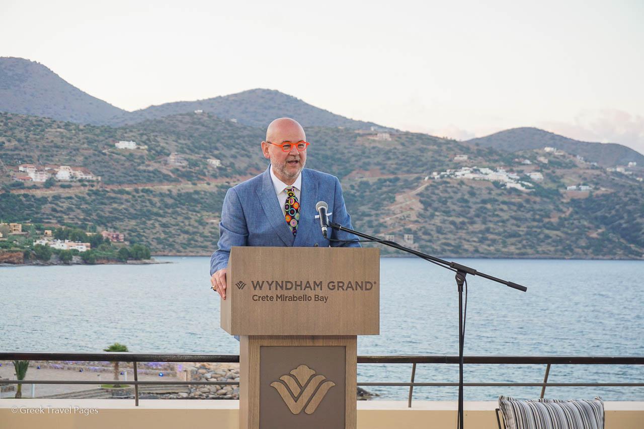 Wyndham Hotels & Resorts' Dimitris Manikis.