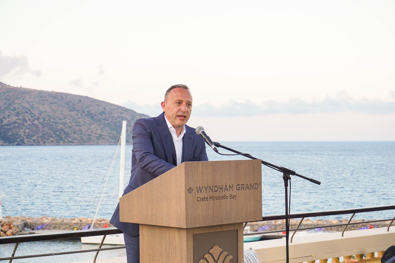 Zeus International CEO Charis Siganos.
